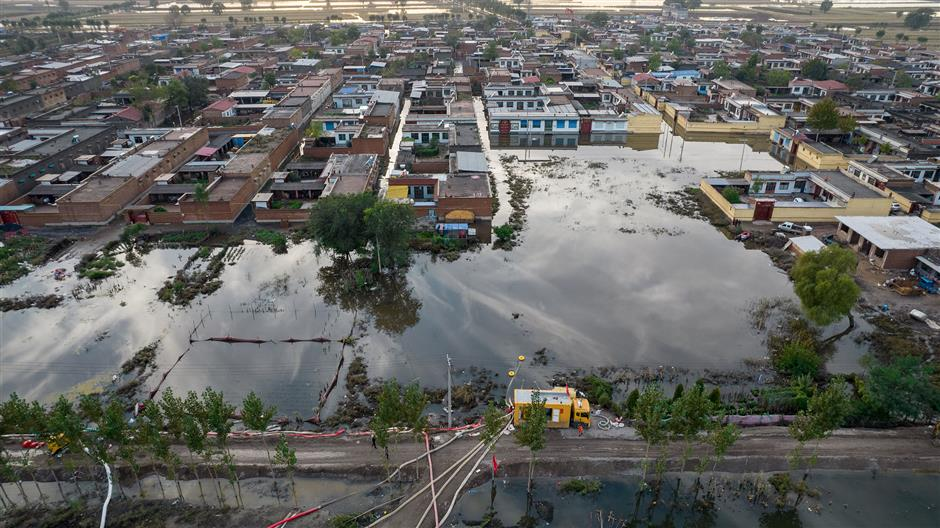 Over 1.75m people affected by floods in N China's Shanxi