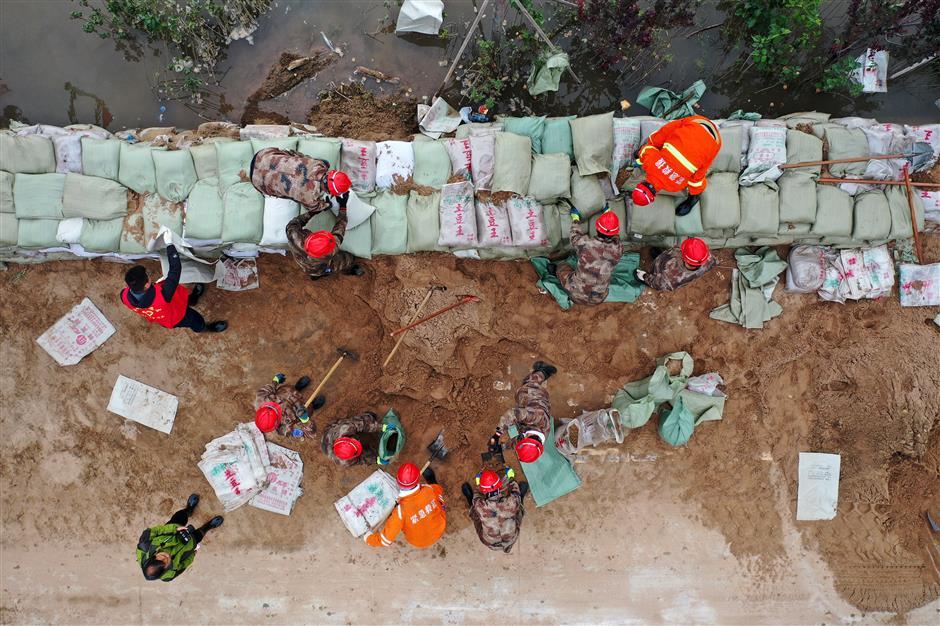 Over 120,000 evacuated as nonstop rain floods Shanxi