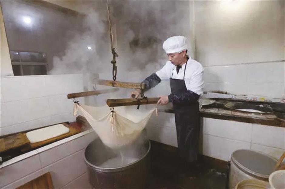 The art of making all kinds of Sijing tofu