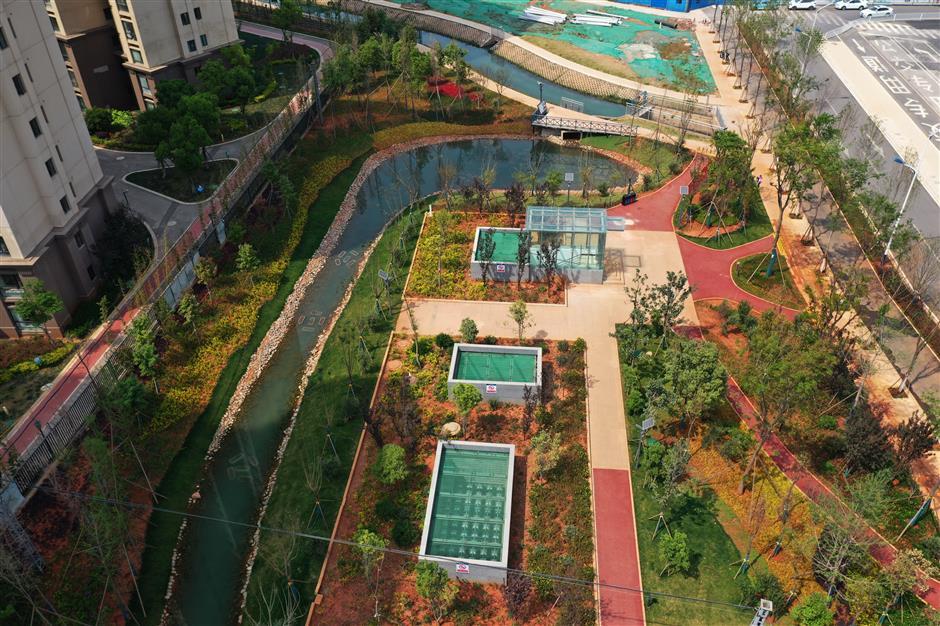 Kunming developing green infrastructure to strengthen water supply