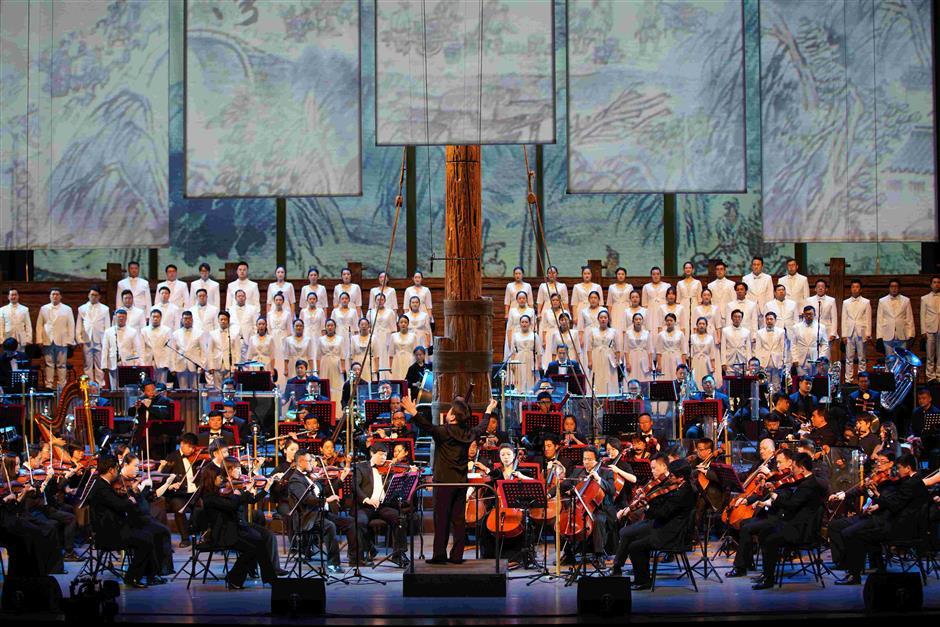 A Peking Opera take on Grand Canal story