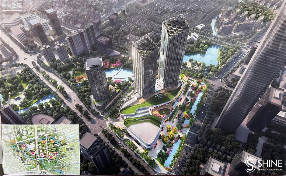 Key gateway development in full swing at Zhenru Subcenter