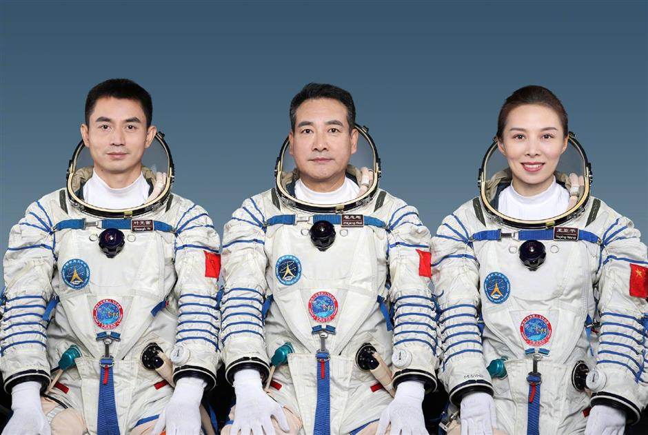 China unveils Shenzhou-13 crew for space station mission